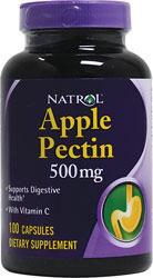 Apple Pectin 500mg capsules dietary supplement
